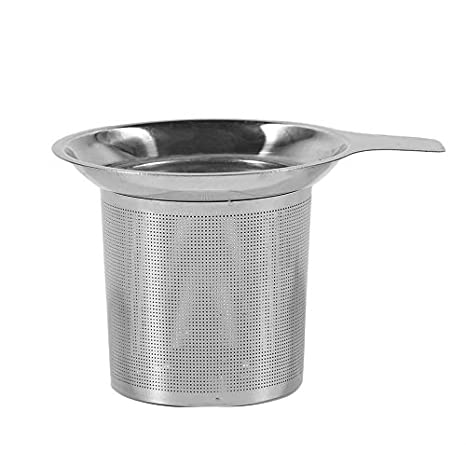 Fantasyworld Práctico Filtro de colador de té Acero ...