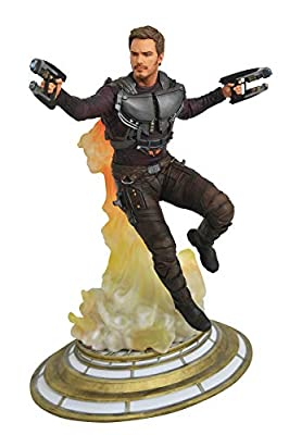 DIAMOND SELECT TOYS Marvel: Guardians of The Galaxy Vol. 2: Starlord Unmasked PVC Gallery Figure