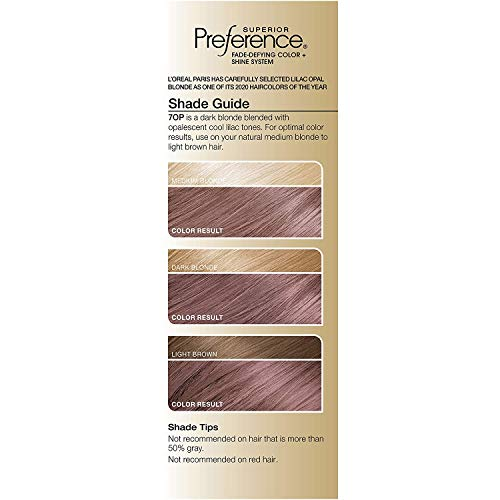 L'Oreal Paris Fade-defying + Shine Permanent Hair Color, Rich Luminous Conditioning Colorant, up to 8 Weeks Of Fade-Defying Hair Color, Light Lilac Opal Brown