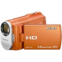 Sony Webbie MHS-CM1 HD Camcorder (Orange)