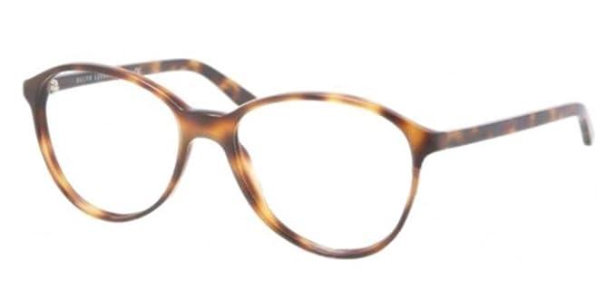 RALPH LAUREN Monture lunettes de vue RL 6079 5303 Écailles de tortue 53MM cc654448a4d3