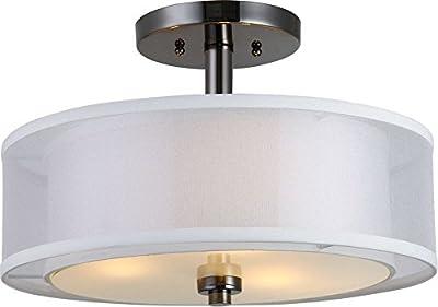 Hardware House 22-3997 El Dorado Semi Flush Mount Light Fixture