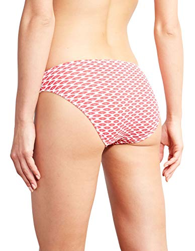 Panty Kiss 241611 Motif Knickers Brief Women's Barbara Lips 364 Red gHfd8x