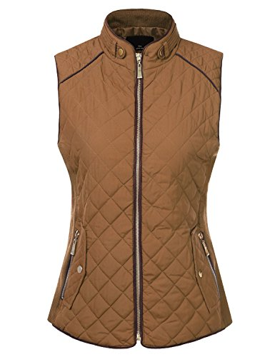 Quilted Puffy Vest - 7