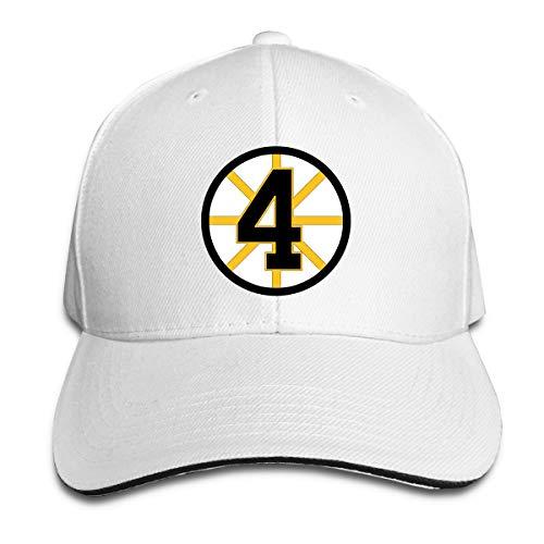 (Unisex Classic Bobby-Orr-Retired-Number Adjustable Baseball Cap White)