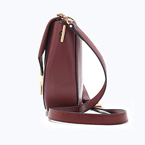 f88e5df443 W Retrò colore One Size l A Daypack Brown 10 Shopping Versatile Da Red H  Borsa Lavorare 8 Donna 11 Per 1 5 Tracolla ...