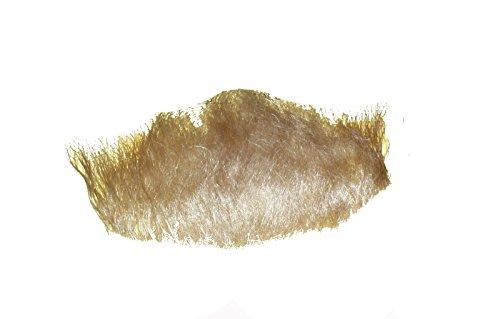 2023 Blonde Human Hair Chin Beard -