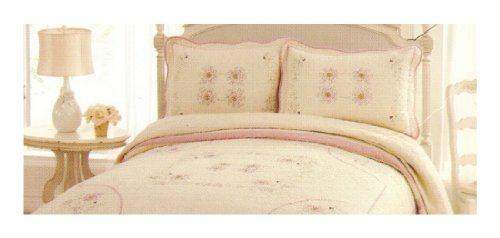 Laura Ashley Arabella Design King Pillow (Laura Floral Pillow Shams)