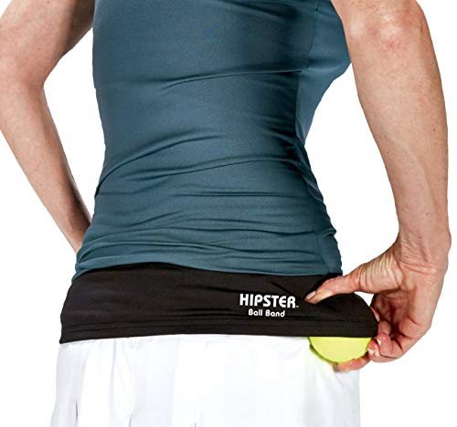 TOURNA Hipster Ball Band for Holding Tennis Balls and Pickleballs - Large