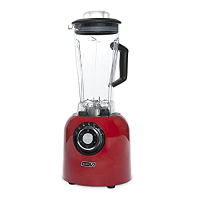 Dash DPB500RD Chef Series Premium Digital Blender, Red