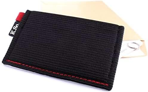 K.So. Slim Minimalist Wallet & Card Holder. Minimal Front Pocket Small Wallet for Men and Women