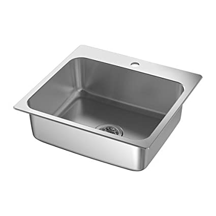 Ikea Inset sink, 1 bowl, stainless steel 34386.172314.1810 ...