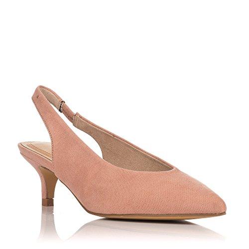 Zapatos De Rosa 8140 Tacón Nude xBqAU6RwB