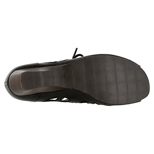 Bella Vita Womens Pixie Open Toe Casual Ankle Strap Sandals Black THLUpA