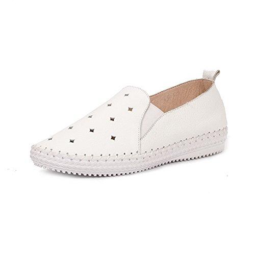 Adee - Sandalias de vestir para mujer blanco