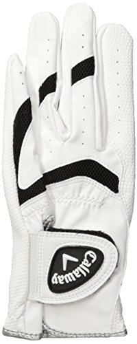 (Callaway X-Junior Golf Glove, Medium, Left Hand, Prior Generation)