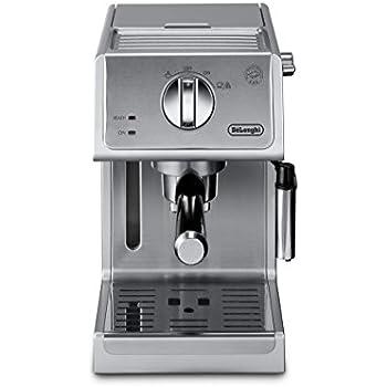DeLonghi ECP3620 15 Bar Espresso Cappuccino Machine, Silver