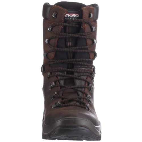 Northland 02-02086 Yukon Leather Winter Boots, Stivali uomo Marrone (Braun (Dark Brown))