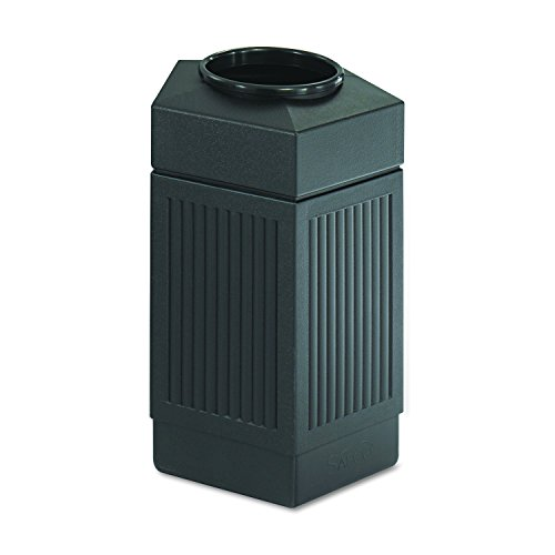 30 Gallon Kitchen Trash Can: Safco Products 9485BL Canmeleon Indoor/Outdoor Trash Can