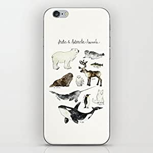 Arctic & Antarctic Animals Hard Plastic Case Protective Shell Cell Phone Cover For Iphone 6