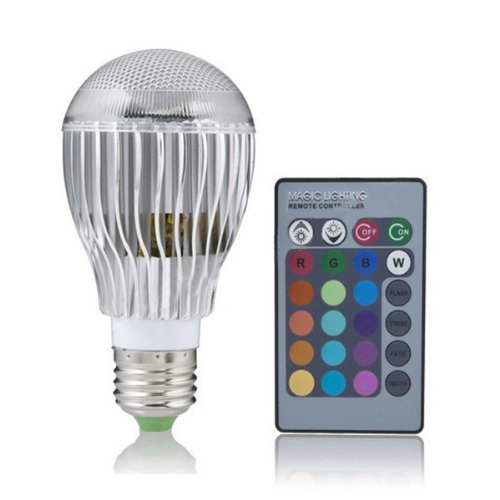 T-Power (9W 9Watt E27) 16 Colors LED Magic