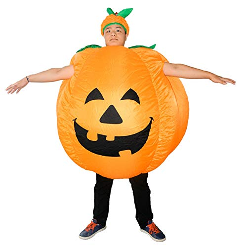 Fairy-Margot Adult Inflatable Costume Halloween Cosplay Blow Up Fancy Suit -Dinosaur Cowboy Pumpkin Ape for Women Plus Size for Men -