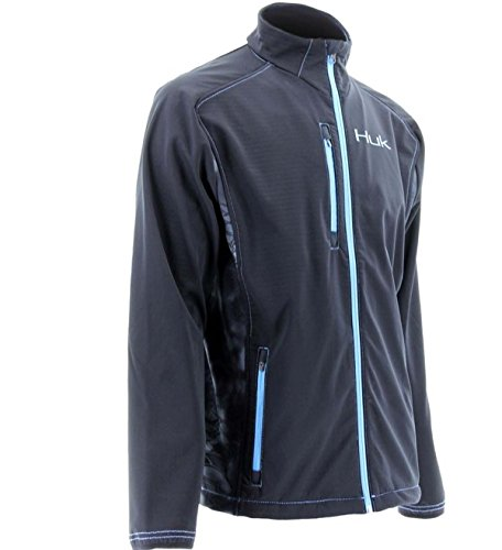 Marolina Outdoor H4000004NEPM Huk Full Zip Fleece Jacket, Neptune, Medium Review