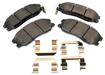 ACDelco 171-0984 GM Original Equipment Front Disc Brake Pad Set with Springs and Insulators