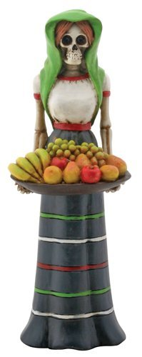 Fruit Lady Skeleton with Basket of