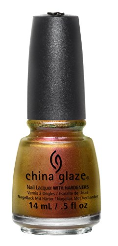 China Glaze The Great Outdoors Nail Lacquer, Cabin Fever, 0.
