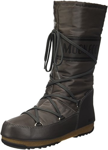 Moon Deporte Exterior Shade Boot Zapatillas Mujer antracite Para Gris W De e Soft CwrqCx08