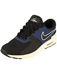 Womens Air Max Zero Running Trainers 857661 Sneakers Shoes (UK 3 us 5.5 EU  36, black ivroy binary blue 004) �� 134 �� Product Details �� NIKE
