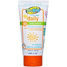 TruKid Sunny Days Daily SPF 30+ UVA/UVB Sunscreen Lotion, Mineral Based, Safe for Face and Body 3.5 oz