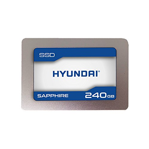 Hyundai Sapphire 240GB Internal SSD SATA III, TLC, 2.5'' (C2S3T/240G) by HYUNDAI
