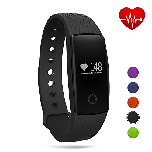 Fitness Tracker Bluetooth Wristband Bracelet