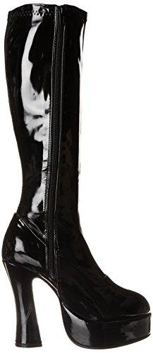 Ellie Zapatos Mujeres Chacha Bota Black Patent