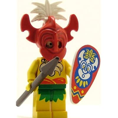 LEGO Pirates Minifig Islander King Kahuka: Toys & Games