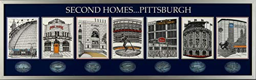 The Greatest-Scapes Second Homes ... Pittsburgh Deluxe Framed Venues Print