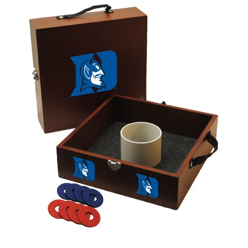 - Wild Sports NCAA College Duke Blue Devils Washer Toss Game