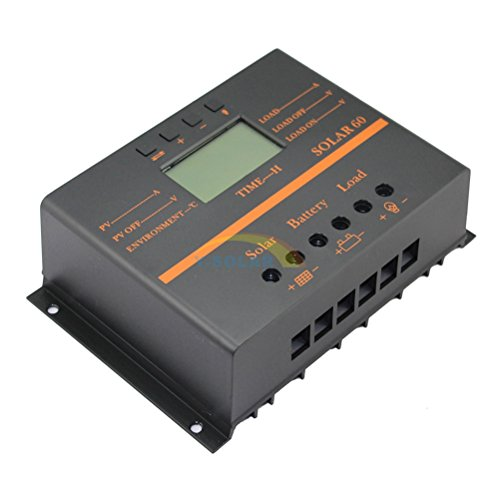 Y-SOLAR 60A Solar Battery Regulator Charge Controller with 12V 24V auto 5V USB Output by Y-SOLAR (Image #1)