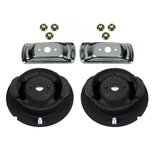 Front Upper Shock Strut Mount Pair Set of 2 for Mercedes Benz 300E 190E 190D 300D 300TE 300CE (190e Shock)
