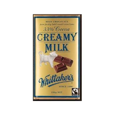 Whittakers Creamy Milk Chocolate Block 250g
