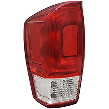 Partslink Number TO2800198 Multiple Manufacturers TO2800198N OE Replacement TOYOTA TACOMA/_PICKUP/_2WD Tail Light Assembly