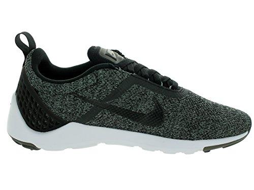 Nike Mens Lunarestoa Två Sig Löparskor Svart / Svart / Antracit / Cl Grå