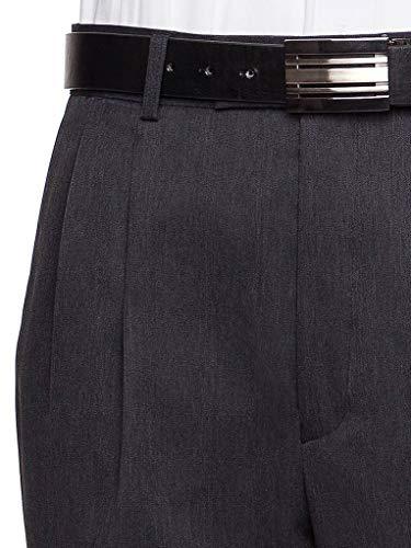 Buy pleated wool comfort slacks
