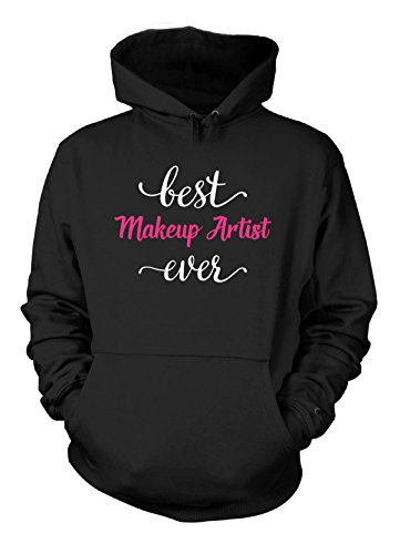 best-makeup-artist-ever-cool-gift-hoodie-black-adult-5xl