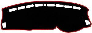 MIOAHD Car Anti-UV Dash Board Dashboard Cover Mat Pad Dashmat Sun Shade Carpet Auto Accessories,for Citroen C5 AIRCROSS 2017 2018 2019 2020