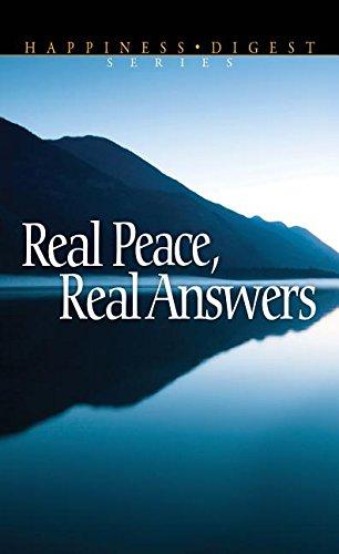 Real Peace, Real Answers pdf epub