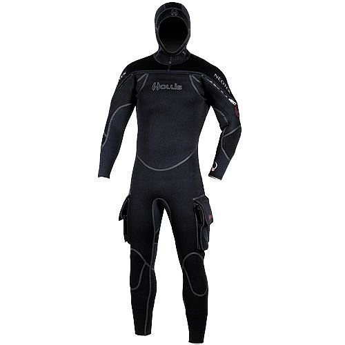 Hollis Scuba Diving Neotek Mens Semi-Drysuit - Medium Large (Mens Semi Drysuit)