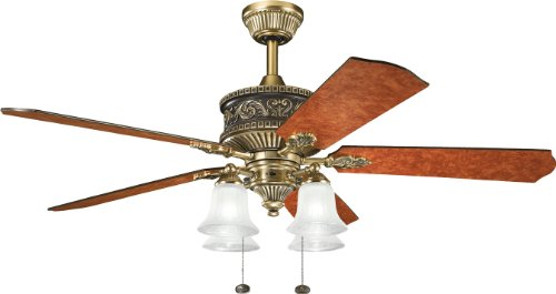 Kichler Lighting 300161BAB Corinth 52-Inch Ceiling Fan,